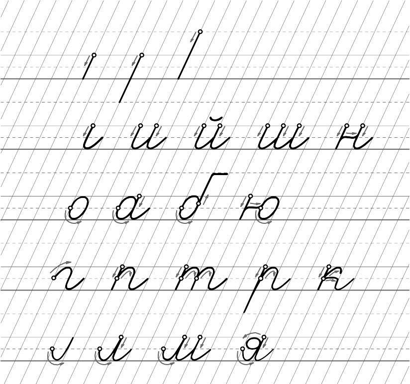"""Тетрадь """"Учусь писать красиво!"""" для чистописания, установки и корректировки почерка."""